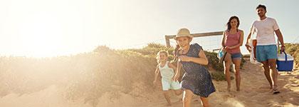 Видове семейна почивка с деца на море